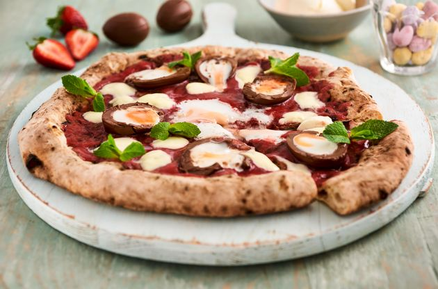 Creme Egg pizza to go on sale in the UK