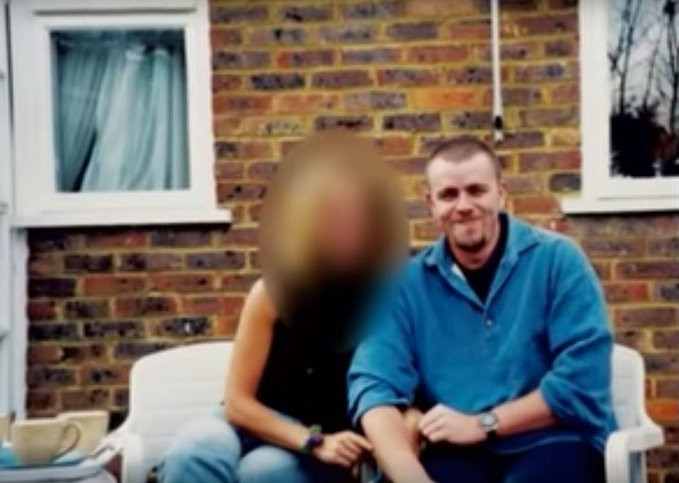 Alison with undercover police officer Mark Jenner, whom she knew as Mark