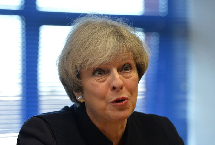 Theresa May has spoken out about an Easter event