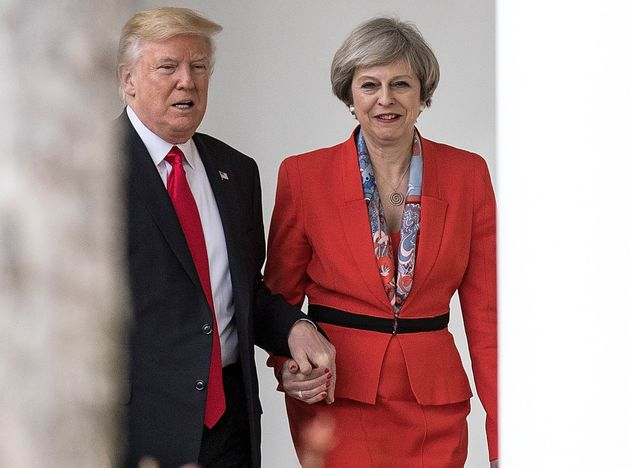 May refused to comment on Donald Trump's Muslim travel