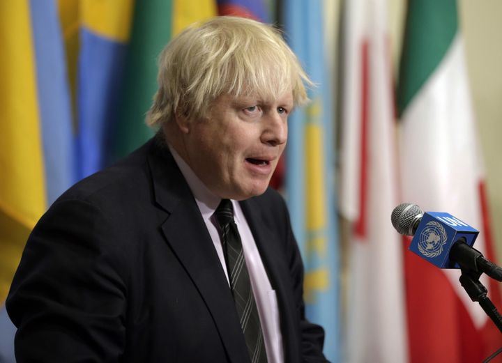 May refused to comment over claims Boris Johnson was dancing in New York