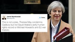 7 Things Theresa May Wouldn't Criticise After Attack On Easter Egg
