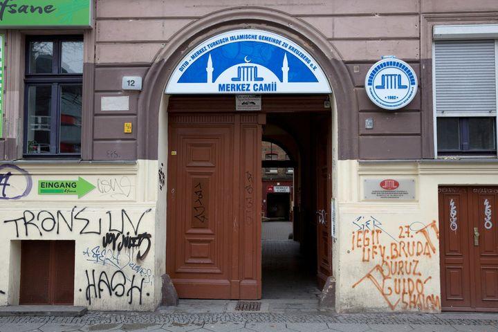 The Merkez mosque in the Kreuzberg neighbourhood of Berlin is run by Turkey's Dinayet agency, like 900 other mosques in Germa