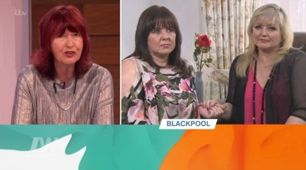 Linda appeared on 'Loose Women' via video