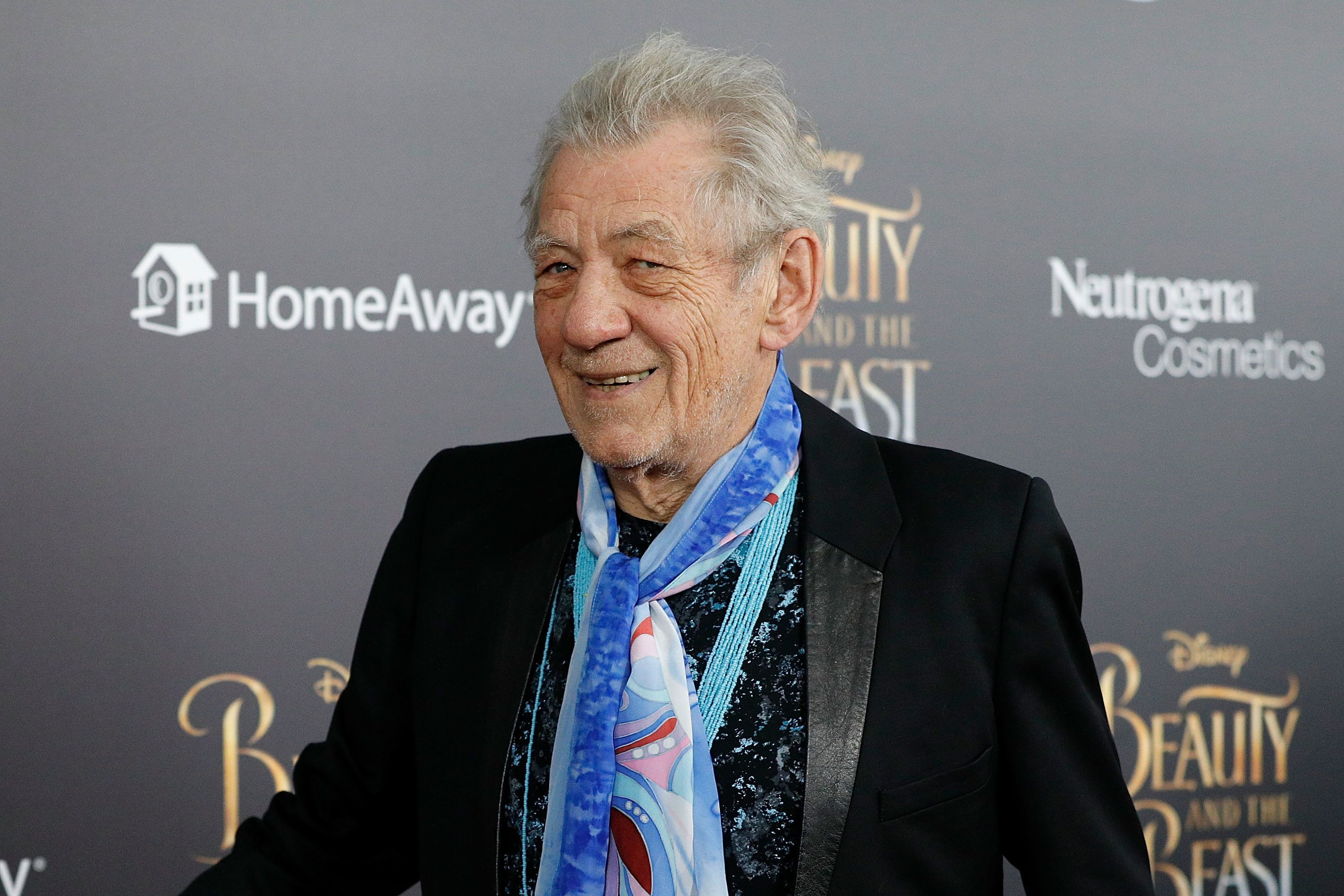 NEW YORK, NY - MARCH 13:  Actor Sir Ian McKellen attends the 'Beauty and the Beast' New York screening at Alice Tully Hall, Lincoln Center on March 13, 2017 in New York City.  (Photo by Taylor Hill/FilmMagic)