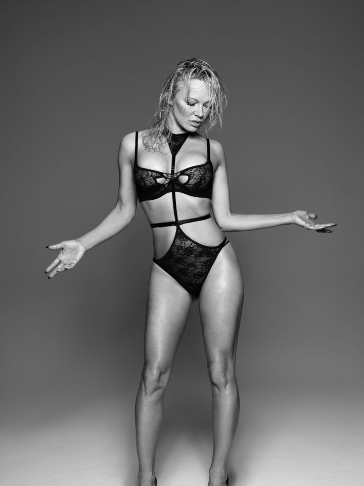 Pamela Anderson Stars In New Lingerie Campaign For Coco De Mer ...