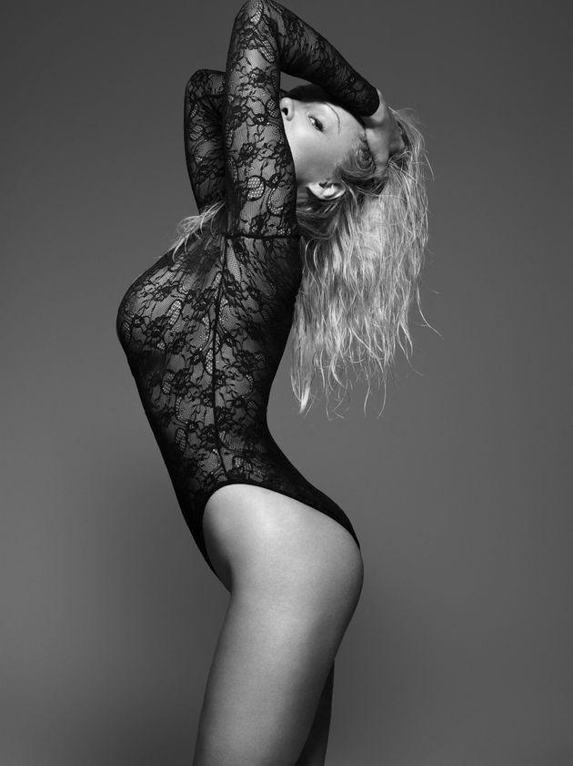 Pamela Anderson Stars In New Lingerie Campaign For Coco De