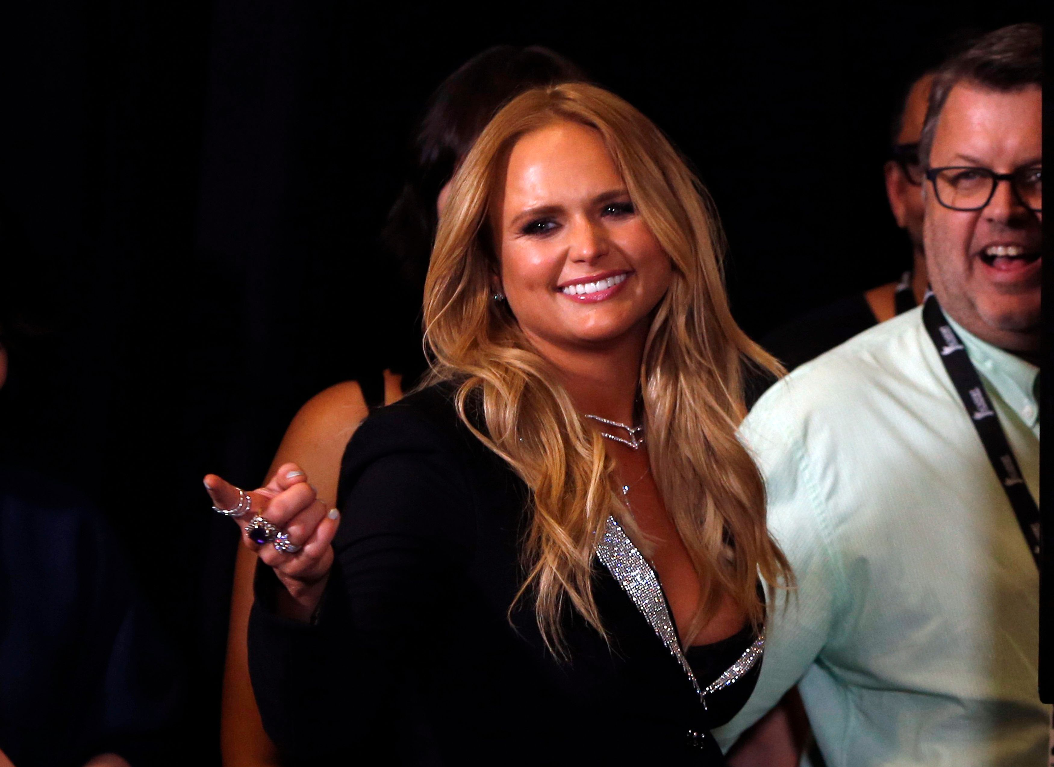 52nd Academy of Country Music Awards - Photo Room - Las Vegas, Nevada, U.S., - 02/04/2017 - Singer Miranda Lambert. REUTERS/Steve Marcus