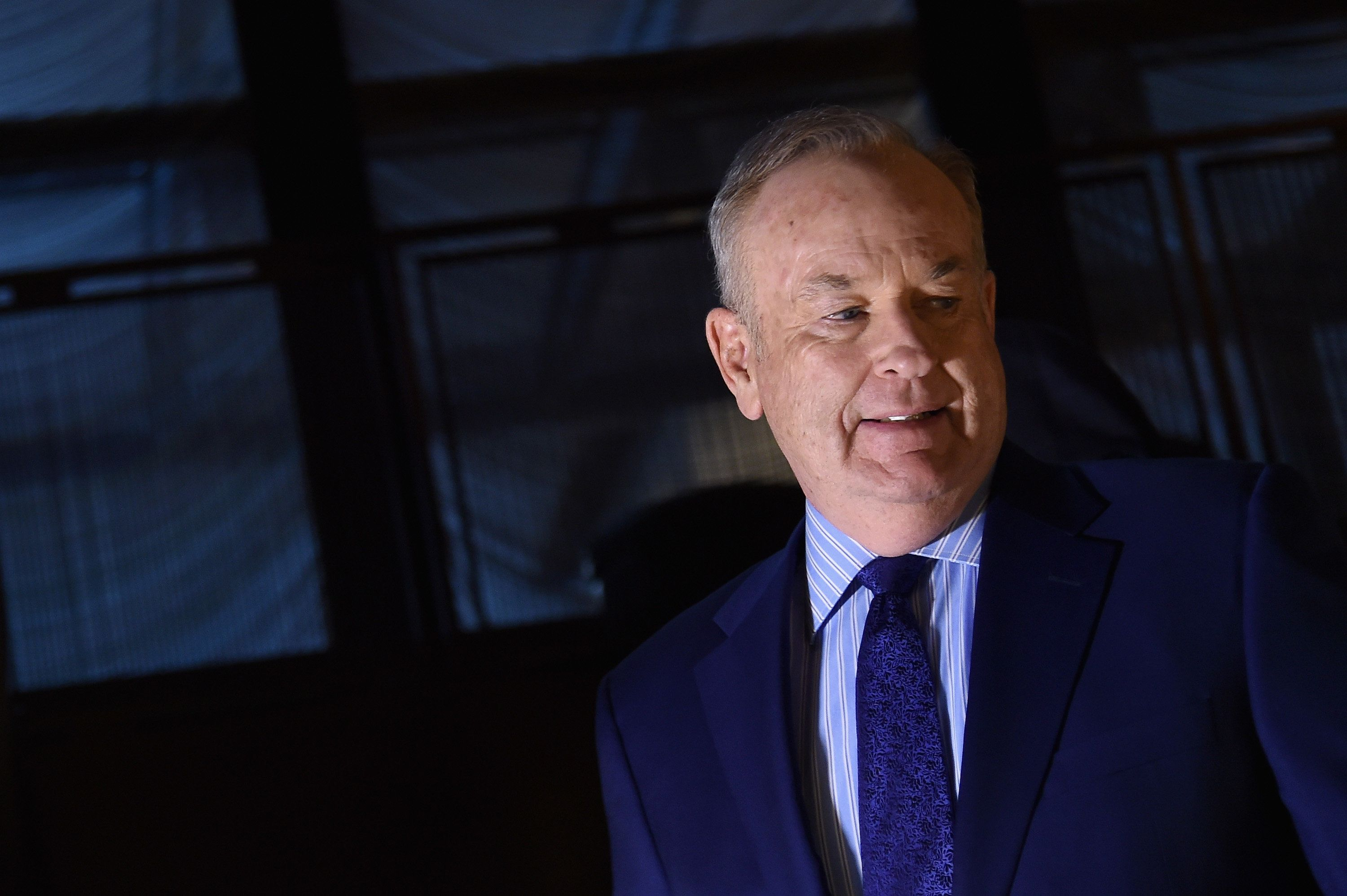 "Advertisers are pulling their commercials from Bill O'Reilly's ""The O'Reilly Factor,"" but his show's ratings remain cabl"