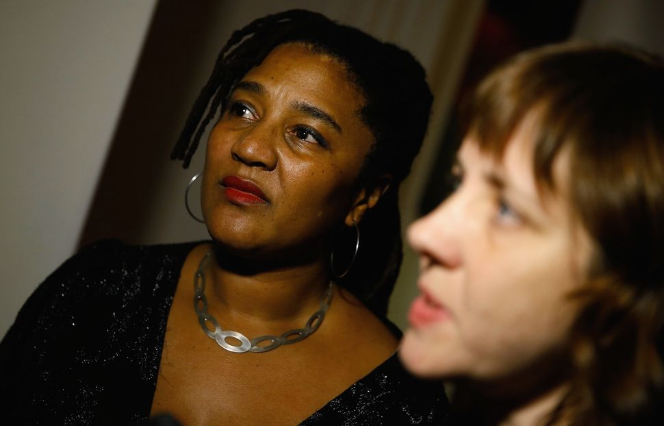 Lynn Nottage and Kate Whorisky.