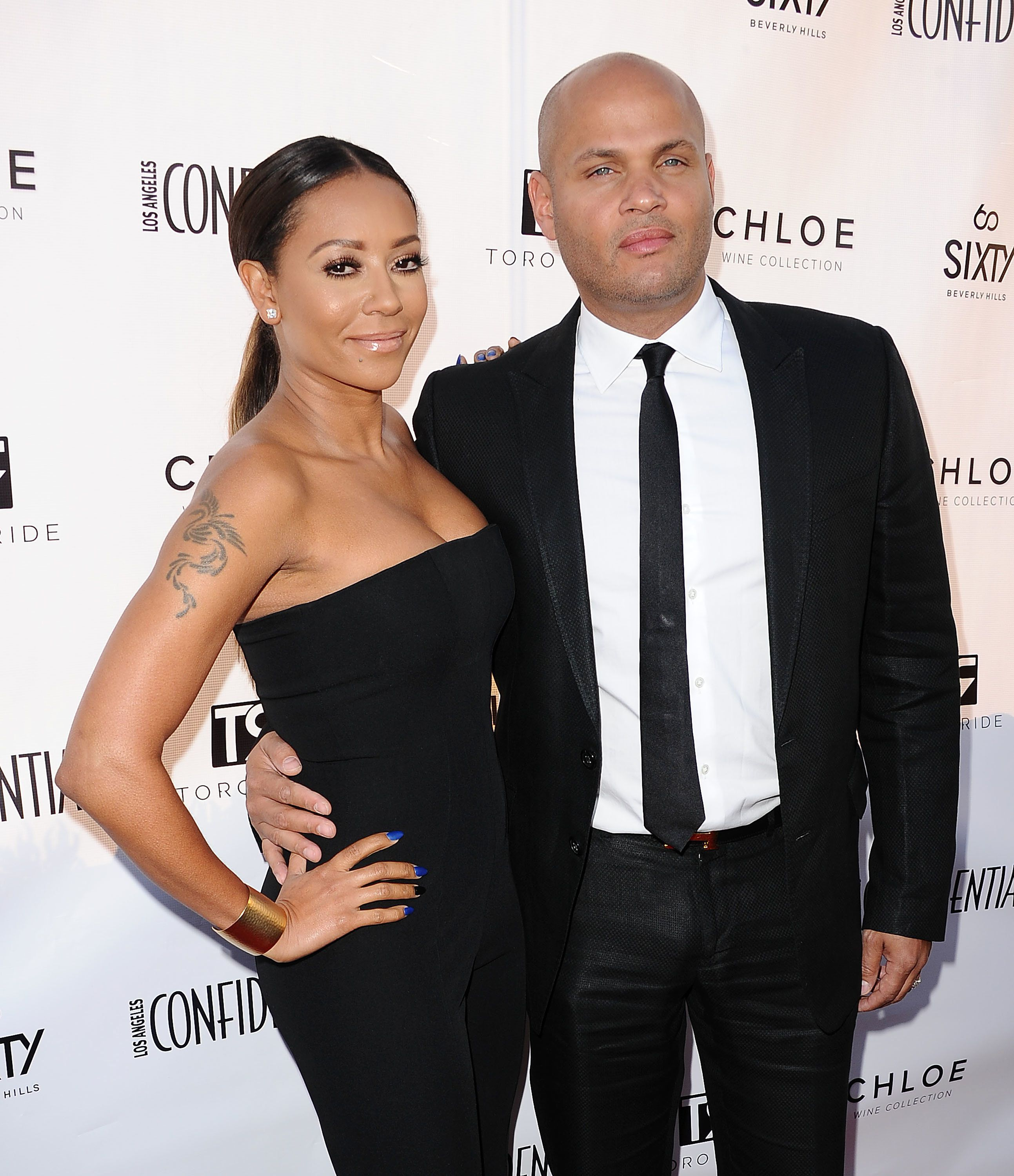 Mel B Granted Restraining Order Against Allegedly Abusive Estranged