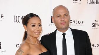 BEVERLY HILLS, CA - JUNE 04:  Melanie 'Mel B' Brown and husband Stephen Belafonte attend Los Angeles Confidential Magazine's Women of Influence issue event at SIXTY Beverly Hills on June 4, 2014 in Beverly Hills, California.  (Photo by Jason LaVeris/FilmMagic)
