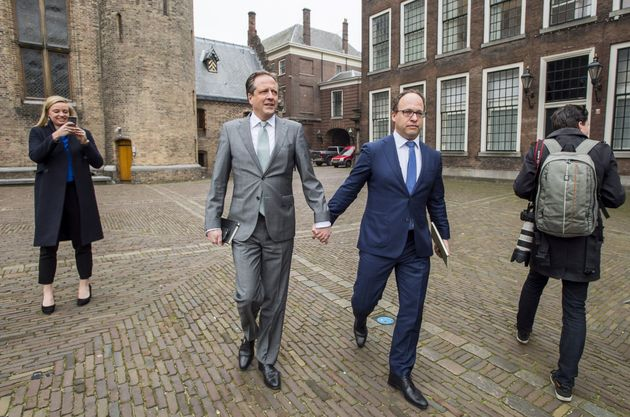 """We think it is quite normal in the Netherlands to express who you are,"" Alexander Pechtold..."