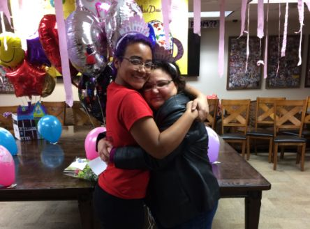 "The day of the promposal. ""She is my best friend, by far,"" Francesca says of her mom."