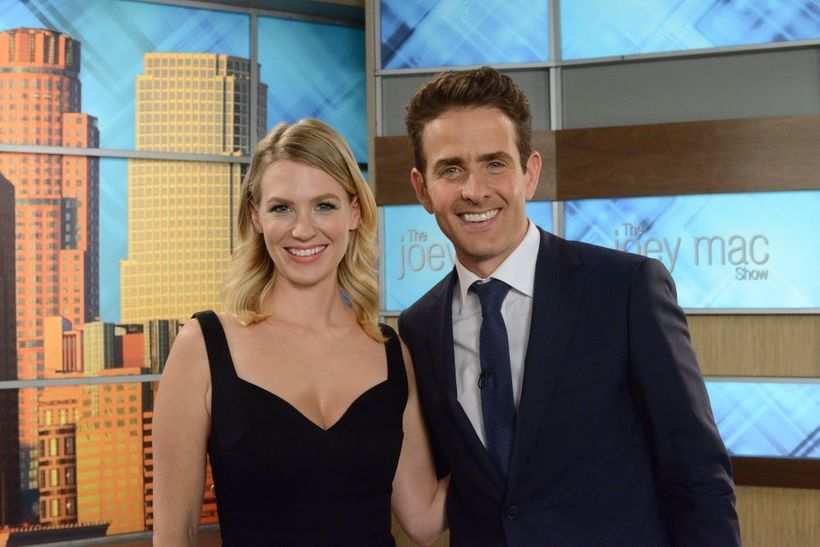 Return of the Mac: Joey McIntyre with January Jones