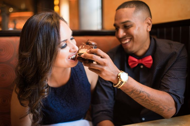 Nikki-Lee Flowerree and Tommy Redding visited The Cheesecake Factory a lot when they first started dating.