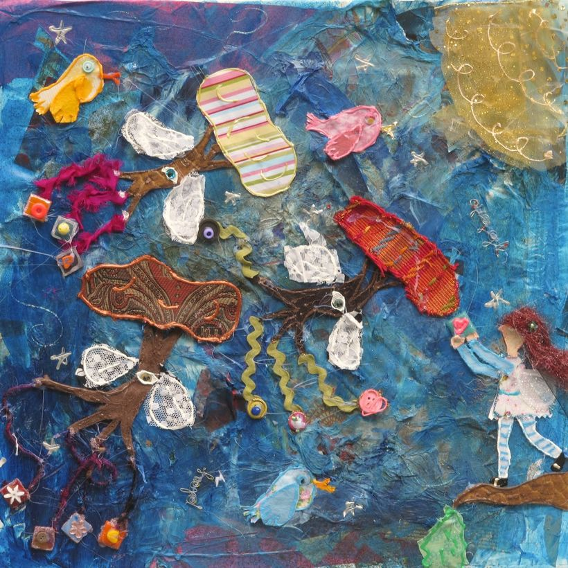 """Mixed media art Galleries<a rel=""""nofollow"""" href=""""https://amyoes.com/galleries"""" target=""""_blank"""">here</a>"""