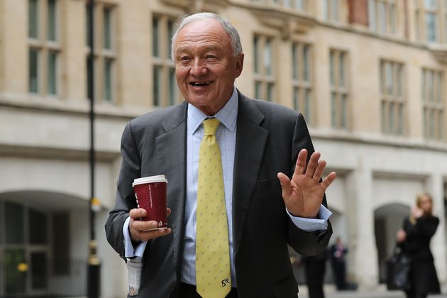 Ken Livingstone before a hearingwhere he escaped expulsion from the Labour