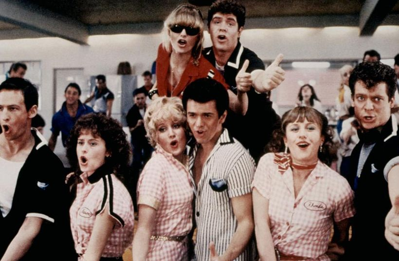 "Luft and the cast of ""Grease 2"""