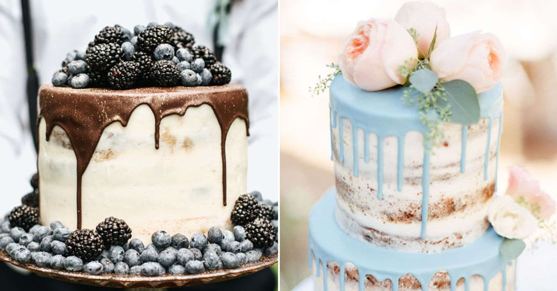 14 Drip Wedding Cakes That Are Overflowing With Sweetness | HuffPost