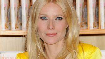 BEVERLY HILLS, CA - APRIL 21: Gwyneth Paltrow poses as she signs copies of her new cookbook, 'My Father's Daughter: Delicious, Easy Recipes Celebrating Family & Togetherness' at Williams-Sonoma Beverly Hills on April 21, 2011 in Beverly Hills, California.  (Photo by Gregg DeGuire/FilmMagic)