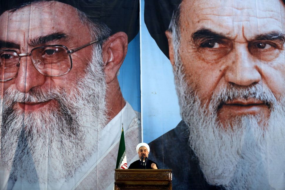 "The influence of the ""deep state"" looms over Rouhani as the presidential elections approach."