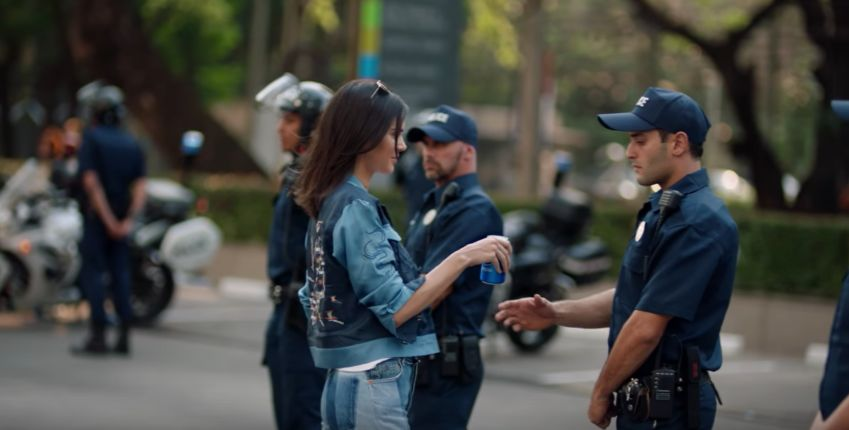 Kendall Jenner in the Pepsi Global