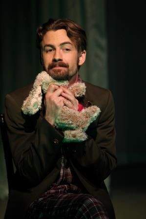 Patrick Alparone as Carl in<strong><em>The Baltimore Waltz</em></strong>