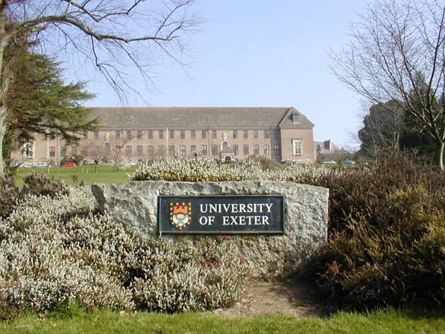 Exeter University will offer exclusively-online Masters degrees from