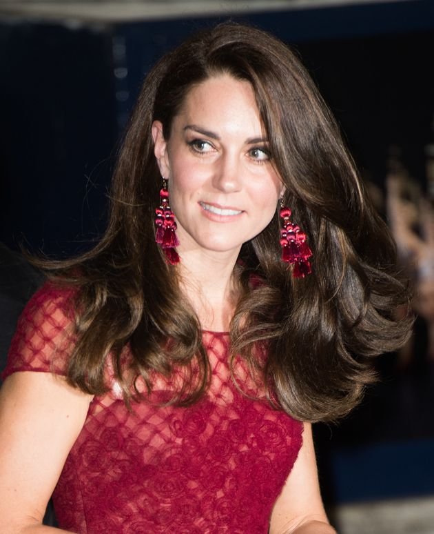 The Duchess Of Cambridge Looked Elegant In Marchesa For The Opening Night Of 42nd Street In