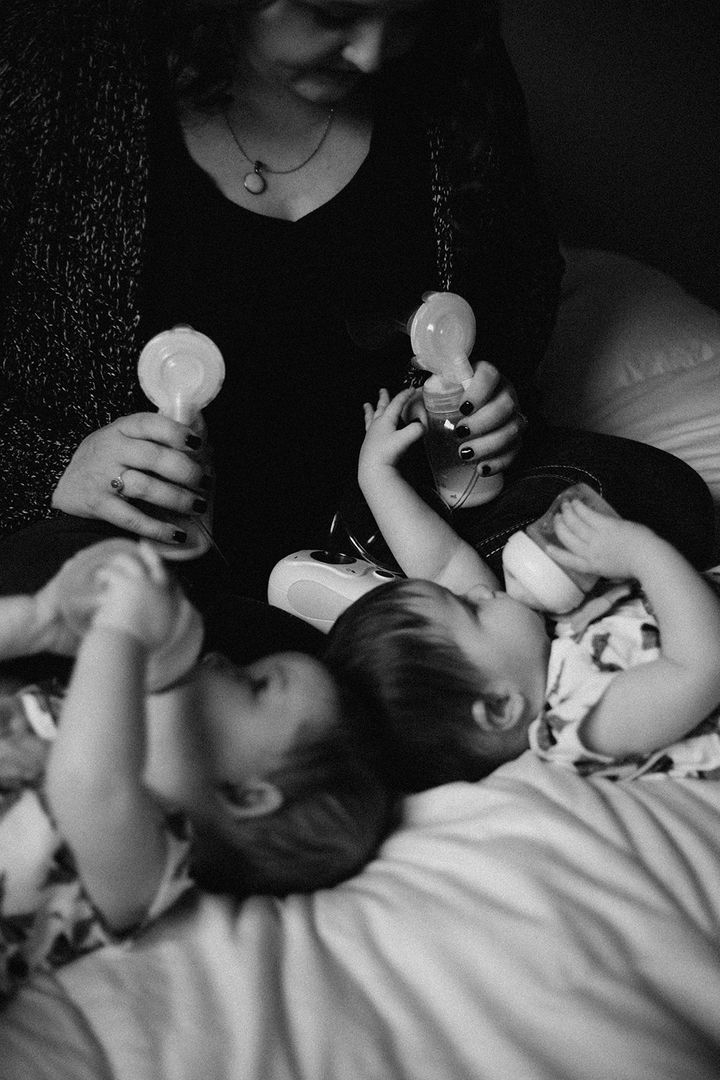 The series showcases different ways of nourishing babies.