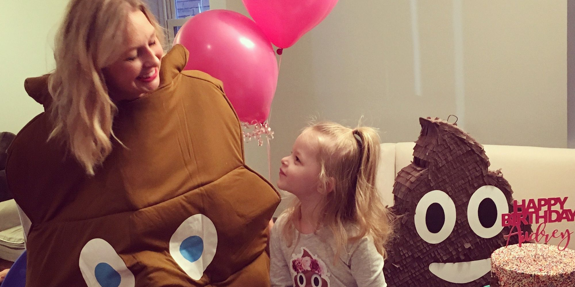 This Little Girl Wanted A Poop-Themed Birthday Party, So Her Parents Threw..