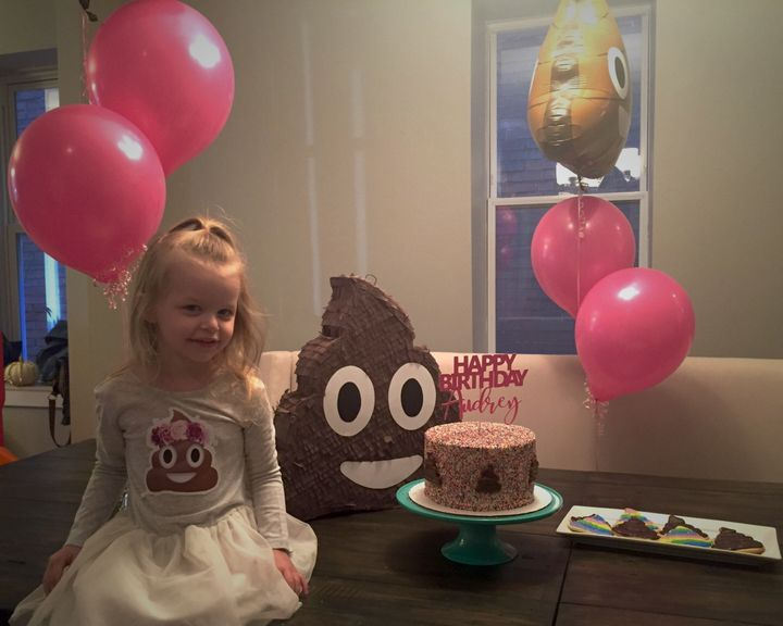 This Little Girl Wanted A Poop-Themed Birthday Party, So Her Parents