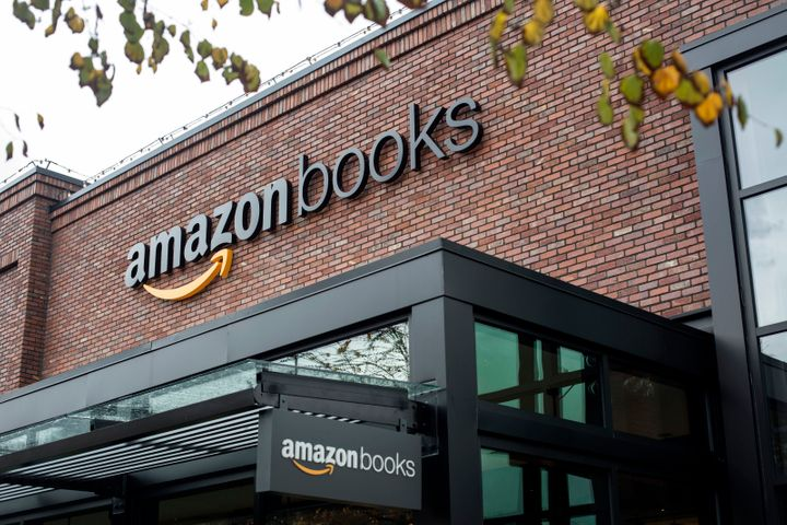 The very first Amazon Books store, in Seattle.