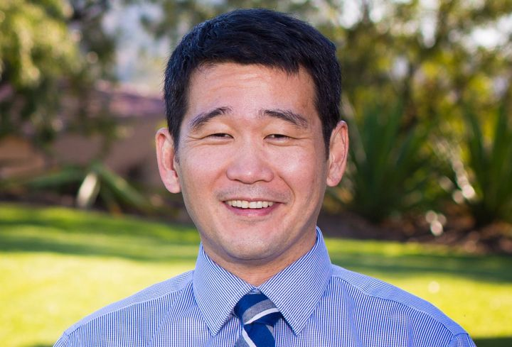 Dave Min, a professor and former adviser to Chuck Schumer, is running for Congress in conservative Orange County.