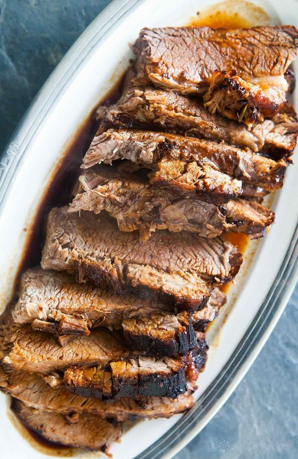 """<strong>Get the <a href=""""http://www.simplyrecipes.com/recipes/beef_brisket/"""" target=""""_blank"""">Easy Beef Brisket recipe</a>&nbs"""