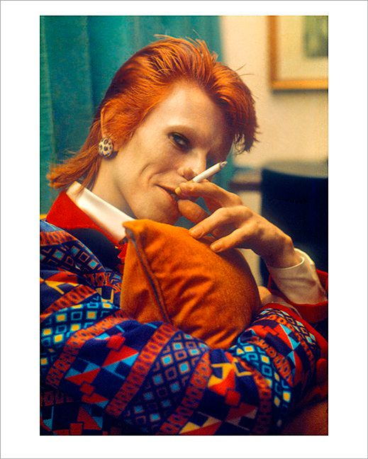 David Bowie, 1973.