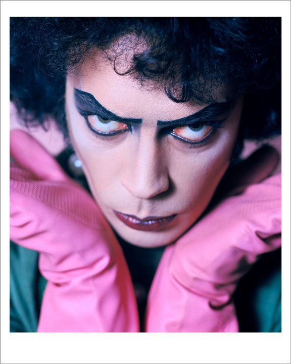 """Tim Curry in """"The Rocky Horror Picture Show,"""" 1974."""