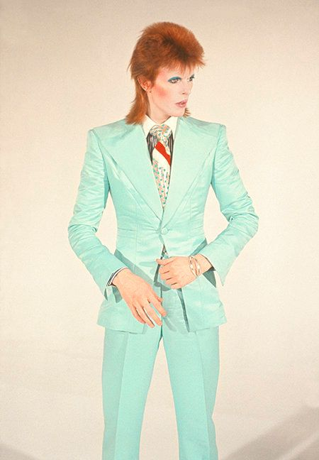 David Bowie Is As Iconic As Ever In These Eclectic Glamour