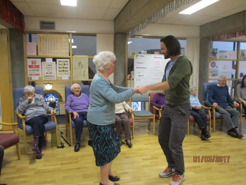"""Dancing For Dementia."""