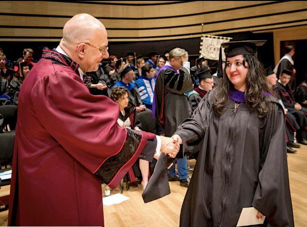 Graduating from Central European University
