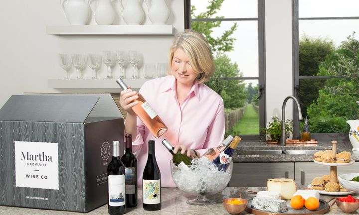 Martha Stewart Is Launching a Wine Company