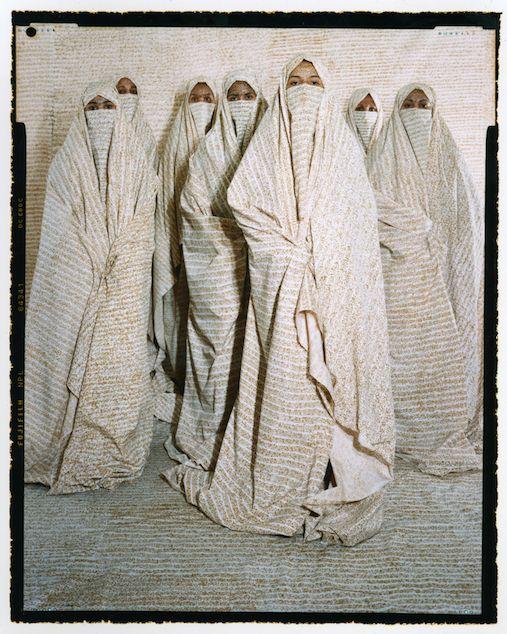 "Lalla Essaydi, ""Converging Territories,"" 2004"