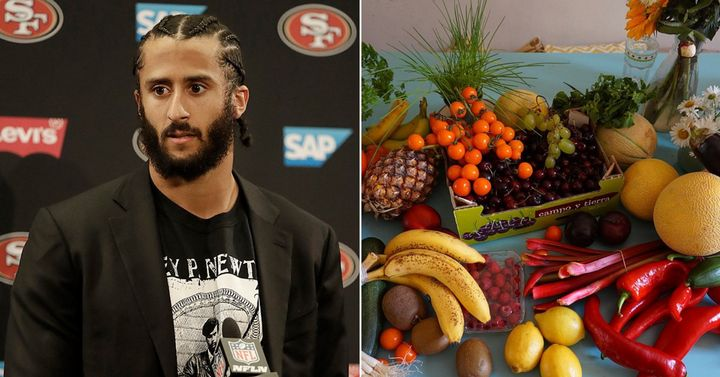Sorry Kaep. The vegan diet only works for white guys who don't protest.