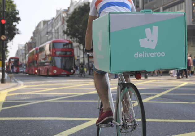 """One contract used by food delivery firm Deliveroo included an""""egregious"""" clause on..."""