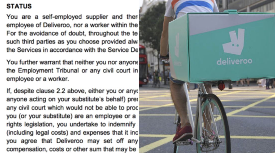 Revealed: The 'Intimidating' Gig Economy Contracts Condemned By MPs