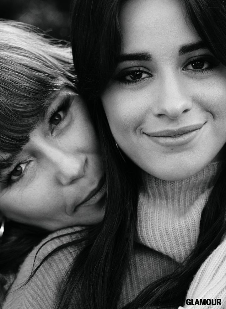 Camila Cabello and her mother, Sinuhe Estrabao.