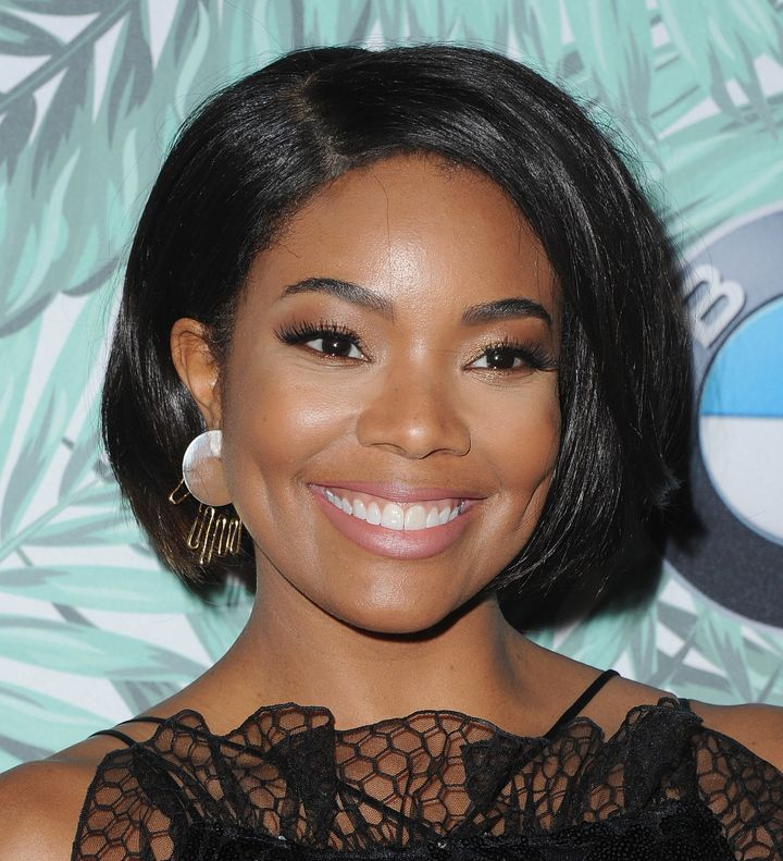 "Gabrielle Union made headlines on Wednesday for <a href=""http://www.huffingtonpost.com/entry/gabrielle-union-natural-hair_us_"