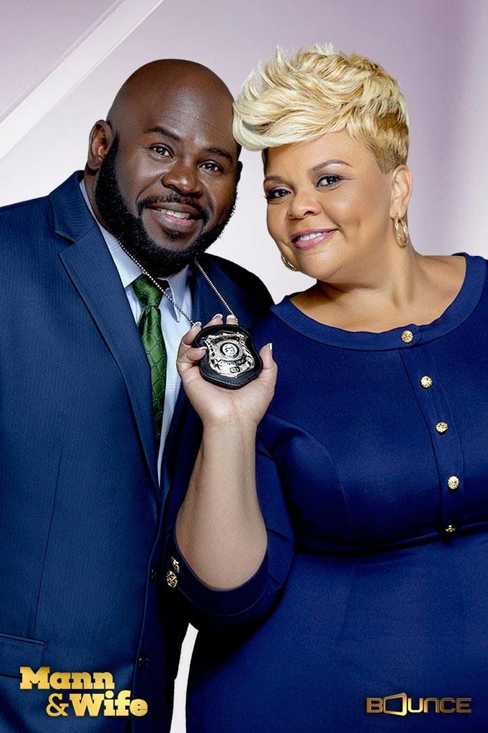 "David and Tamela Mann star in ""Mann & Wife"""
