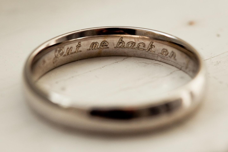 10 cheeky wedding ring engravings that speak volumes huffpost